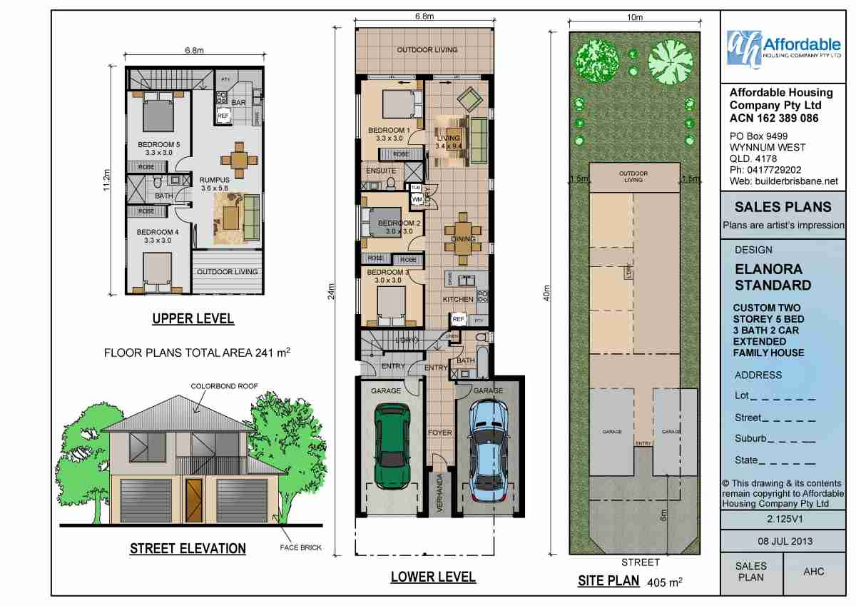 Dual Living Double Storey