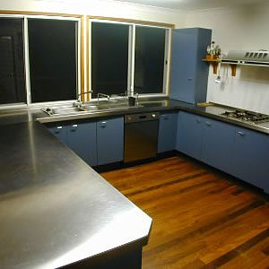 Stainless kitchen update