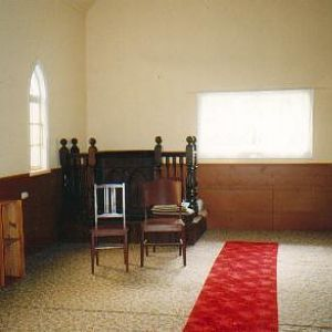 North facing interior of Church