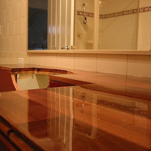 bathroom benchtop