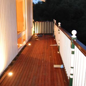 deck 1 complete (at night)