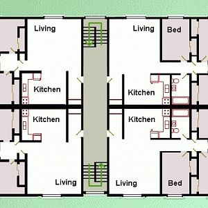 Layout of our building