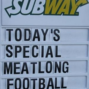Meatlong football