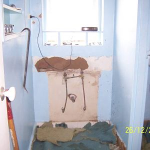 Walsh St - bathroom removal