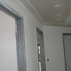 Cornices are in both houses now
