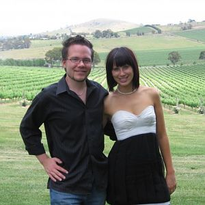 James and Shonnie @ Shonnie's bday winery tour