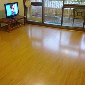 After new Laminated floor