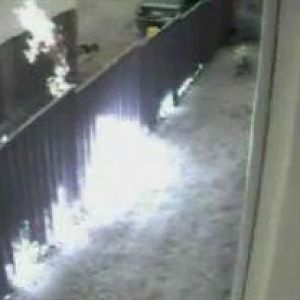 Tenant from hell causes fence fire